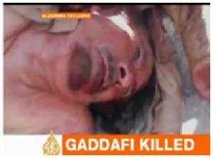 Kadhafi Terbunuh