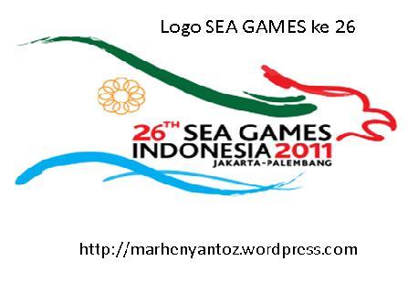Logo SEAGAMES ke 26 Palembang Indonesia