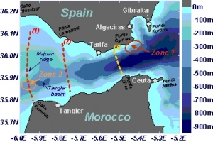 peta selat gibraltar