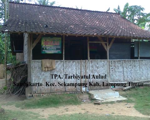 TPA Tarbiyatul Aulad Sambikarto Kec. Sekampung Kab. Lampung Timur